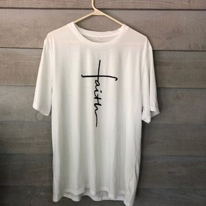 Unisex Short Sleeve White T-Shirt